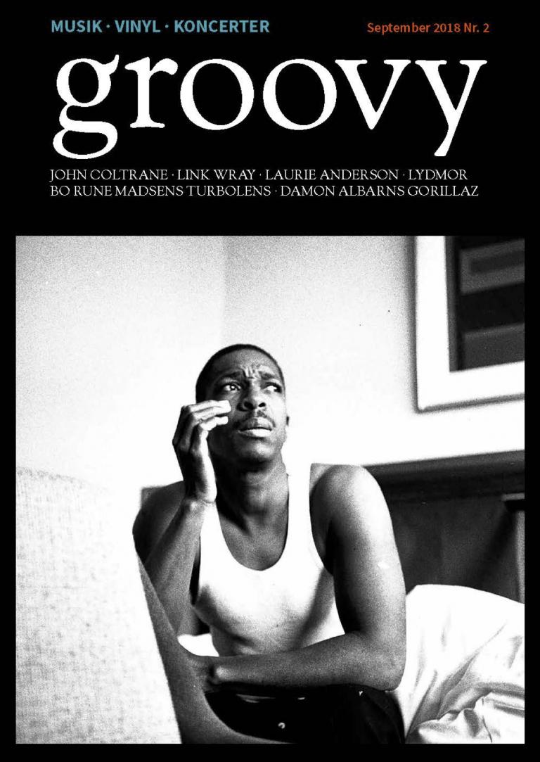 John Coltrane, groovy, cover