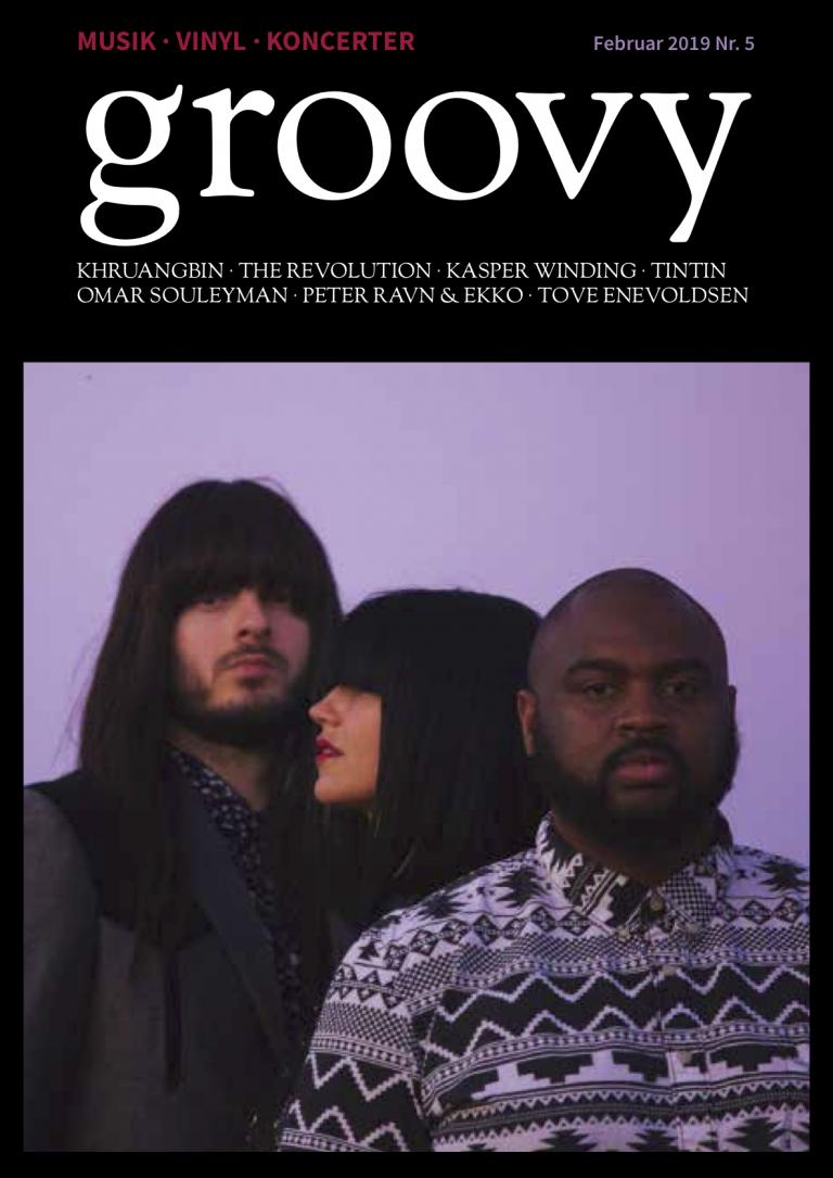 Khruangbin, Groovy, cover